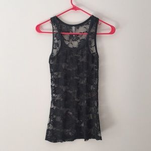 Lacy tank top. S